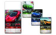 Kalendar zidni auto 4L