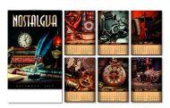 Kalendar zidni nostalgija 6+1