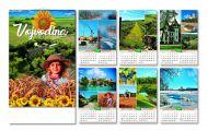 Kalendar zidni Vojvodina 6+1
