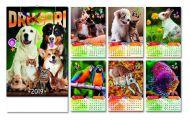 Kalendar zidni drugari 6+1