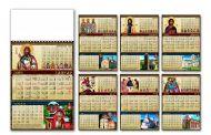 Kalendar poslovni verski 12L
