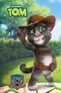Blok za beleške A7 mek povez Talking Tom
