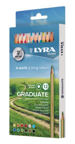 Boje drvene Lyra 1/12 Graduate