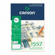 Canson 1557 A4 dvostruka spirala 180 g/m²