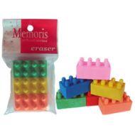 Gumica lego kocka 1/3 Memoris - RASPRODAJA