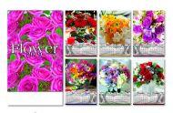 Kalendar zidni cveće 6+1
