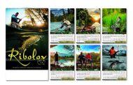 Kalendar zidni ribolov 6+1