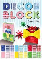 Deco block (dekorativni karton 250g) 18l. 24x34cm
