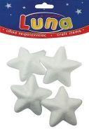 Craft zvezdice stiropor 65mm LUNA
