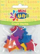 Craft zvezdice od eva pene LUNA