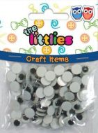Craft oči 8mm LITTLIES LUNA