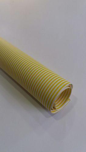 Karton Deco žuti LINIJE B1(70X100cm)  250gr