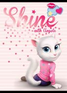 Sveska LUX A4/52 MP Talking Tom sitan karo
