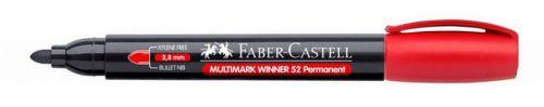 Marker Faber Castell 2.8 mm crveni obli