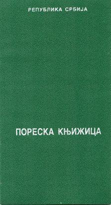 Poreska knjižica