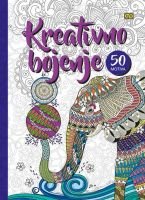 Bojanka kreativno bojenje A4 tvrdi povez