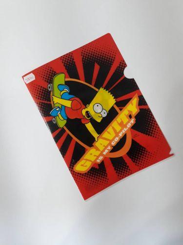 Fascikla L Simpsons PVC - RASPRODAJA