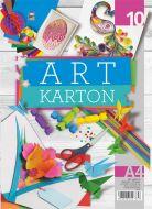 Art karton u boji A4 1/10 mix boja