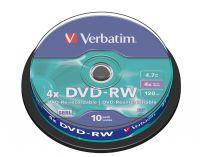 DVD-RW Verbatim 1/10