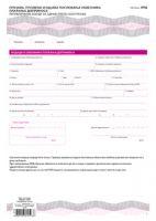 OPD (A4 set 2l. NCR) - Prijava, promena i odjava poslovanja obveznika plać. doprinosa