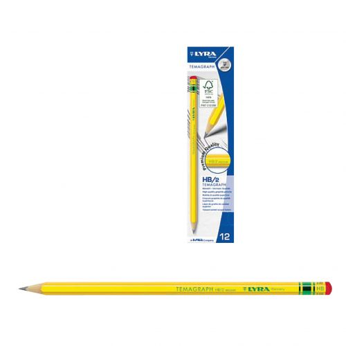 Olovka grafitna Lyra Temagraph HB 1/12