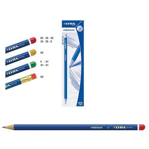 Olovka grafitna Lyra Robinson HB 1/12-RASPRODAJA