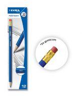 Olovka grafitna Lyra Robinson HB sa gumicom 1/12