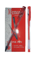 Gel olovka crvena Memoris