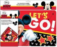 Set podmetač za tanjire i čaše Mickey Mouse
