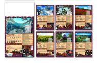 Kalendar poslovni priroda 12L