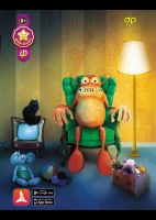 Puzzle 4D Monster - RASPRODAJA